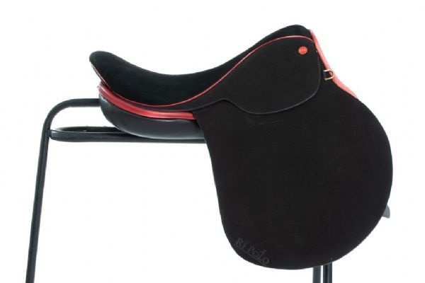 Handmade English Black polo saddle